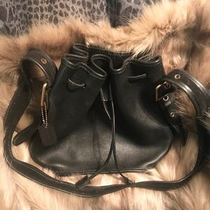 Vintage Coach Lulu's Legacy Bucket / Crossbody Bag